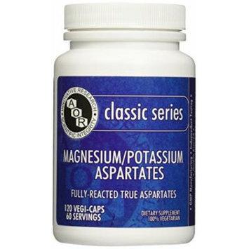 Advanced Orthomolecular Research AOR Magnesium Potassium Aspartates 60 mg Capsules, 120 Count