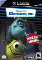 THQ Monsters, Inc. Scream Arena