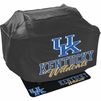 Mr. Bar-B-Q NCAA Grill Cover and Grill Mat Set, University of Kentucky Wildcats