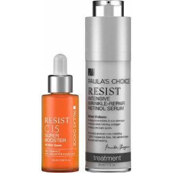 Paula's Choice Resist C15 Super Booster + Resist Intensive Wrinkle-Repair - Complete Duo