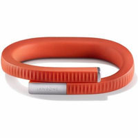 UP 24 by Jawbone Activity Tracker - Large - Persimmon Red (Certified Refurbished)