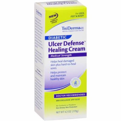 TriDerma MD Diabetic Ulcer Defense Healing Cream, 4.2 oz