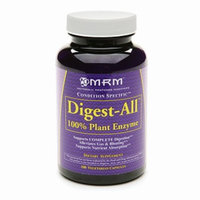 MRM Digest-All 100% Plant Enzyme Dietary Supplement Vegetarian Capsules
