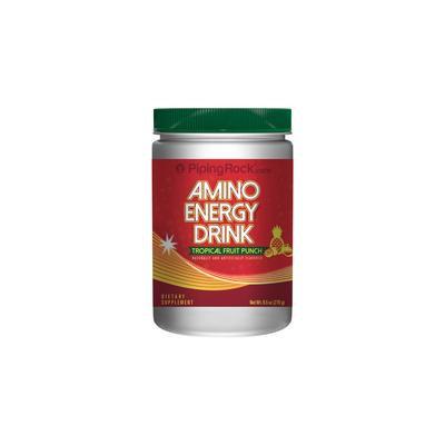 Amino Energy Powder Tropical Fruit Punch 9.5 oz. (270 gm)