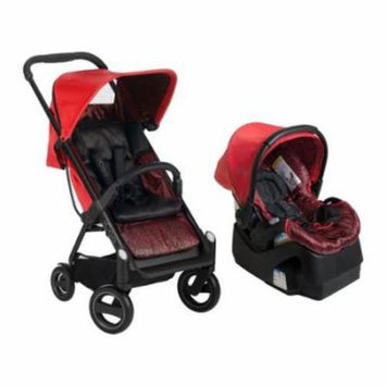 iCoo Acrobat Plus iGuard35 Infant Car Seat - Fishbone Red