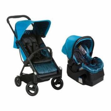 iCoo Acrobat Plus iGuard35 Infant Car Seat - Fishbone Blue