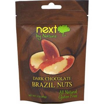 Next by Nature Dark Chocolate Brazil Nuts-3 oz Bag