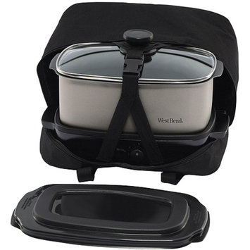 West Bend Oblong Slow Cooker with Tote