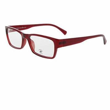 BEVERLY HILLS POLO CLUB Prescription Eyewear Frame High Quality Red Eyewear