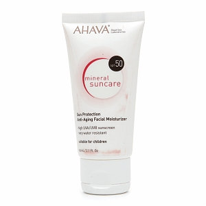 AHAVA Sun Protection Anti-Aging Facial Moisturizer SPF 50