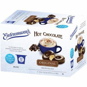 Entenmann's Original Real Hot Chocolate Single Serve Cups, .53 oz, 12 count