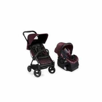 iCoo Acrobat Plus iGuard35 Infant Car Seat - Fishbone bordeaux