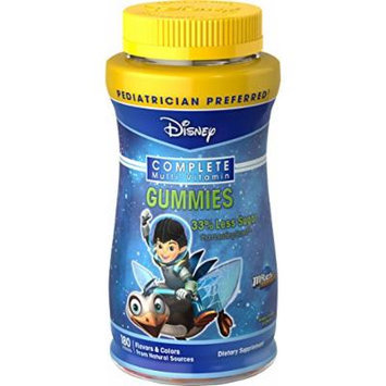 NatureSmart Disney Miles From Tomorrowland Complete Multi-Vitamin Gummies, 180 Count