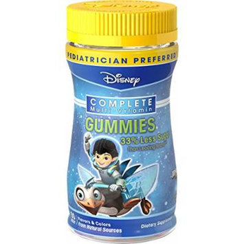 NatureSmart Disney Miles From Tomorrowland Complete Multi-Vitamin Gummies, 60 Count