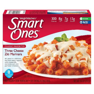 Weight Watchers Smart Ones Three Cheese Ziti Marinara 9oz