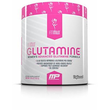 Fitmiss Glutamine Powder, Unflavored, 5.29 Ounce