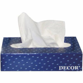 Cascades White 2-Ply Decor Facial Tissue, 100 sheets, (Pack of 30)