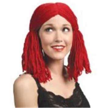 Alicia International 00106 RED RAGGEDY ANNE Wig