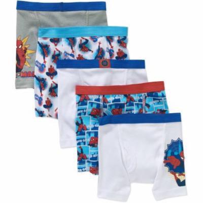 Spiderman Toddler Boys Boxer Briefs Underwear, 5-Pack