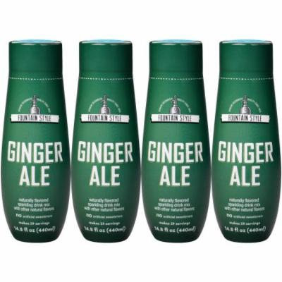 SodaStream Fountain Style Ginger Ale Sparkling Drink Mix, 440mL