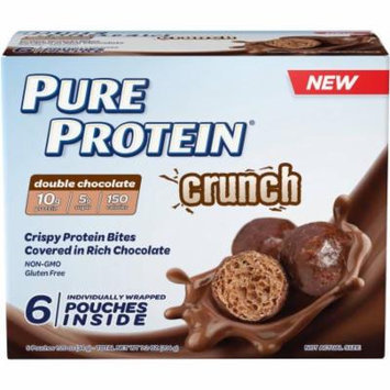 Pure Protein Crunch Double Chocolate Protein Bites, 1.2 oz, 6 count