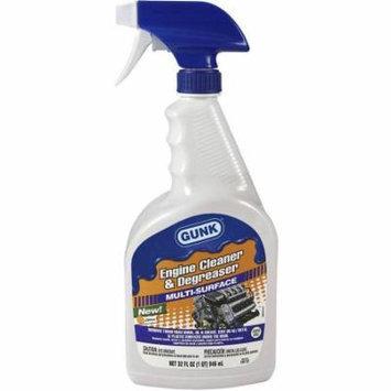GUNK Engine Cleaner and Degreaser, 32 fl oz
