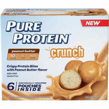 Pure Protein Crunch Peanut Butter Bites, 1.2 oz, 6 count