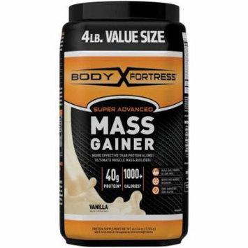 Body Fortress Super Advanced Vanilla Mass Gainer, 4 lbs
