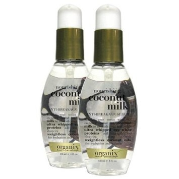 OGX Organix Coconut Milk Anti-Breakage Serum 4 oz.