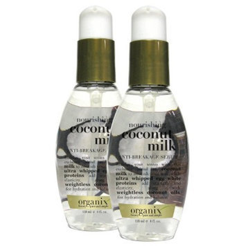 OGX Organix Coconut Milk Anti-Breakage Serum 4 oz.