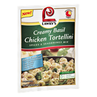 Lawry's Creamy Basil Chicken Tortellini Spices & Seasonings Mix