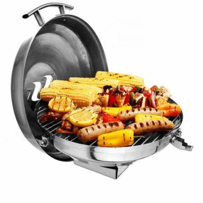 KUUMA CHARCOAL KETTLE GRILL 175 COOKING SURFACE STAINLESS