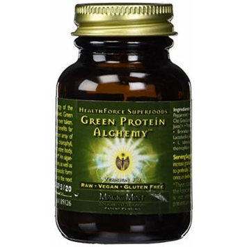 Healthforce Green Protein Alchemy Magic Mint Powder, 20 Gram