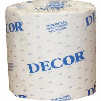 Cascades Decor 1-Ply Standard Bathroom Tissue, 80 rolls