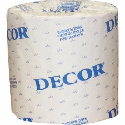 Cascades Decor 1-Ply Standard Bathroom Tissue, 80 rolls
