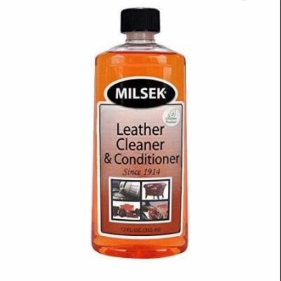 Milsek Leather Cleaner & Conditioner with Real Mandarin Orange Oil