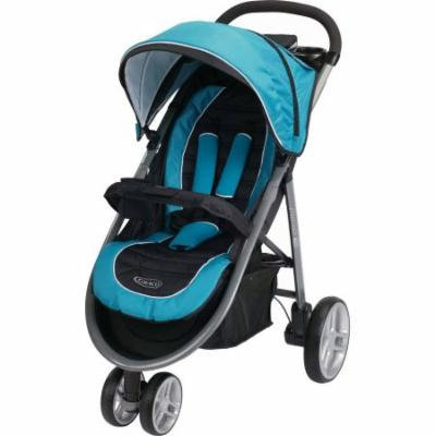 Graco Aire3 Click Connect Lightweight 3-Wheel Stroller, Poseidon