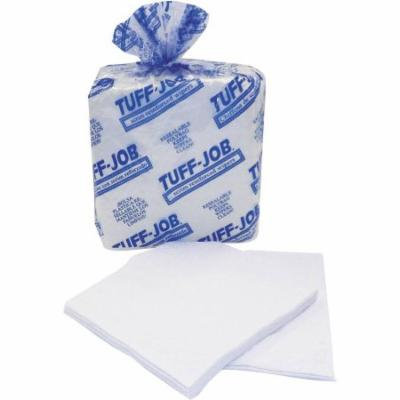 Cascades Tuff-Job White Scrim Reinforced Wipes, 50 sheets, (Pack of 18)