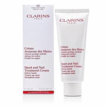 Clarins Hand and Nail Treatment Cream, 3.3 oz