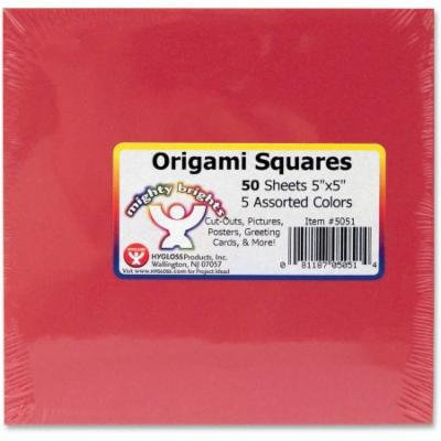 Hygloss Mighty Brights Origami Squares