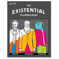 Existential Coloring Book by Accoutrements - 12516