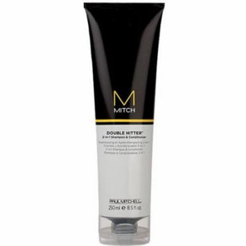 Paul Mitchell Double Hitter 2 in 1 Shampoo & Conditioner, 8.5 fl oz