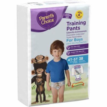 Parent's Choice Training Pants for Boys, Big Pack (Choose Your Size)