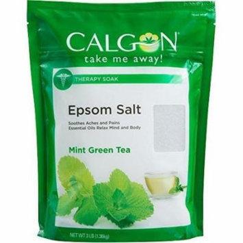 Calgon Epsom Salt, Mint Green Tea, 3 Pounds