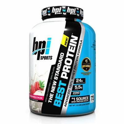 BPI Sports Best Protein, Strawberries & Cream, 5 Pound