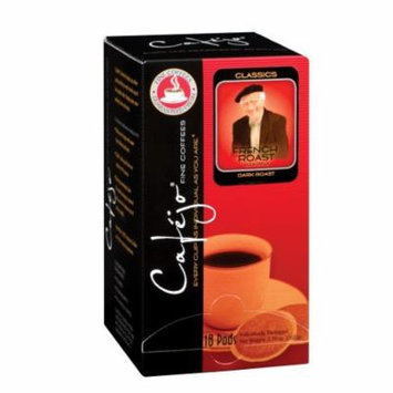 Cafejo CBS1025 French Roast Coffee Pods 72-Pack