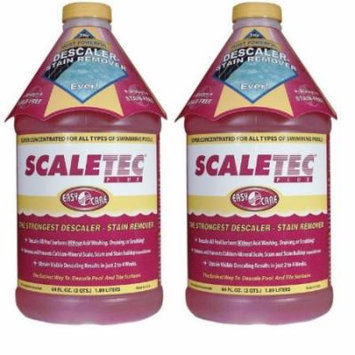 EasyCare Scaletec Plus Descaler and Stain Remover 64 oz - 20064 - 2 PACK, 717107807158