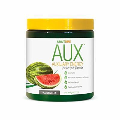 SDC Nutrition About Time Aux Pre-Workout Powder, Watermelon, 171 Gram