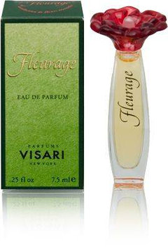 Fleurage by Perfumes Visari for Women 0.25 oz EDP Mini (Red Flower)