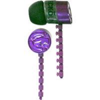 Ecko Unlimited Zip Earbud Purple DSV